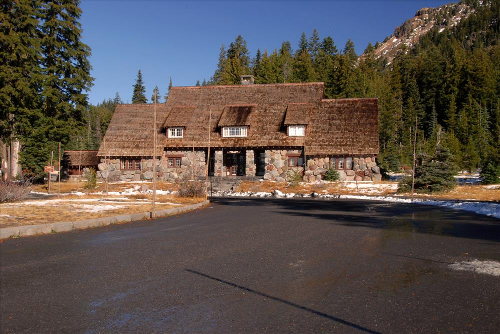 Administration Building in Crater Lake NP, 2009 Dave Harrison 2