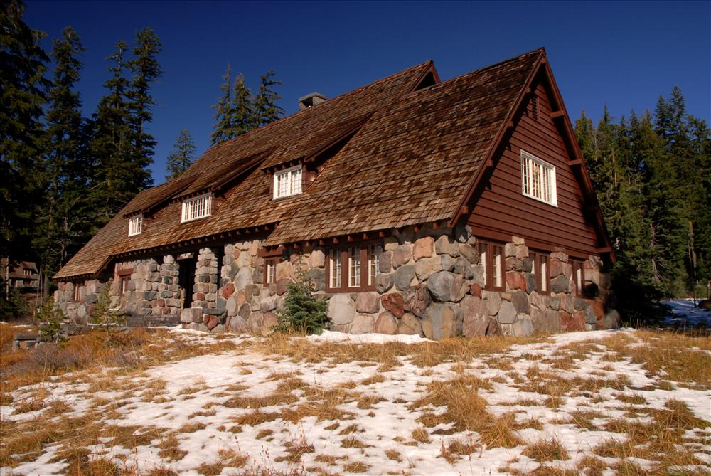 Administration Building in Crater Lake NP, 2009 Dave Harrison 5