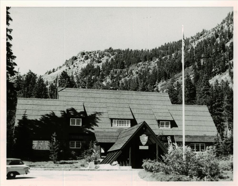 Administration Building in Crater Lake NP, Summer 1966 Robert O. Bruce, Chief Park Naturalist