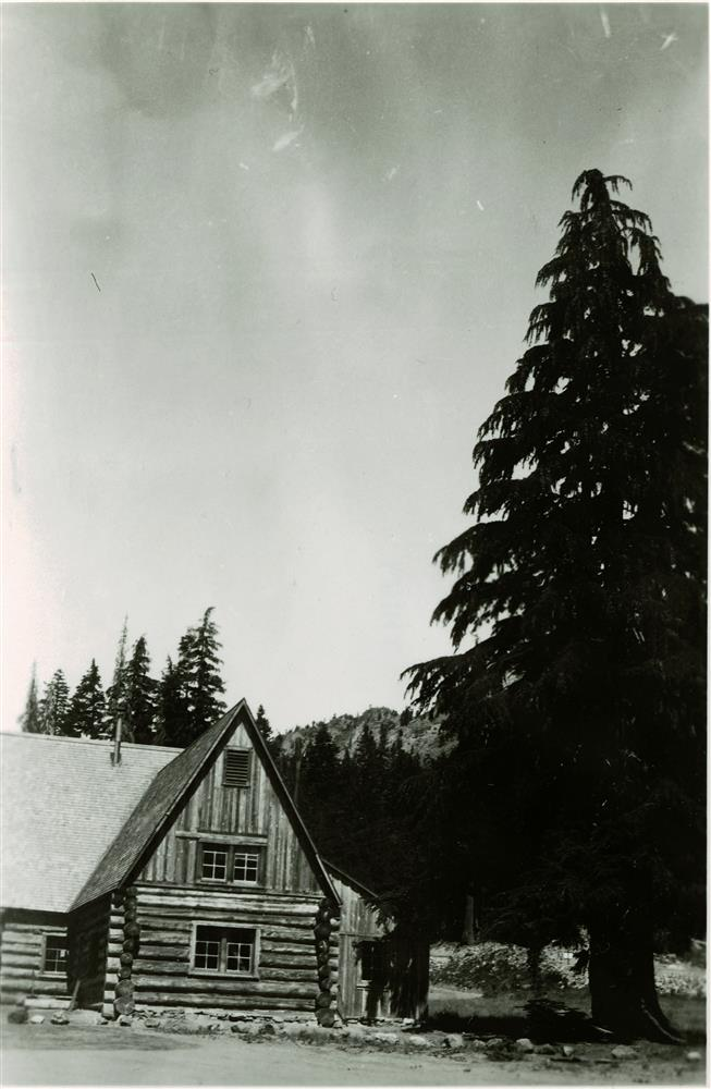 Administration Building in Crater Lake NP, circa 1930