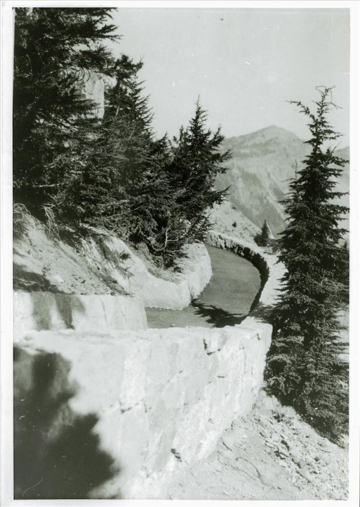 Bay below Crater Lake Lodge in Crater Lake NP (date unknown)