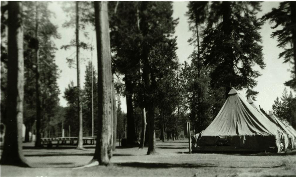 CCC Camp Mazama Campground 1933 or later