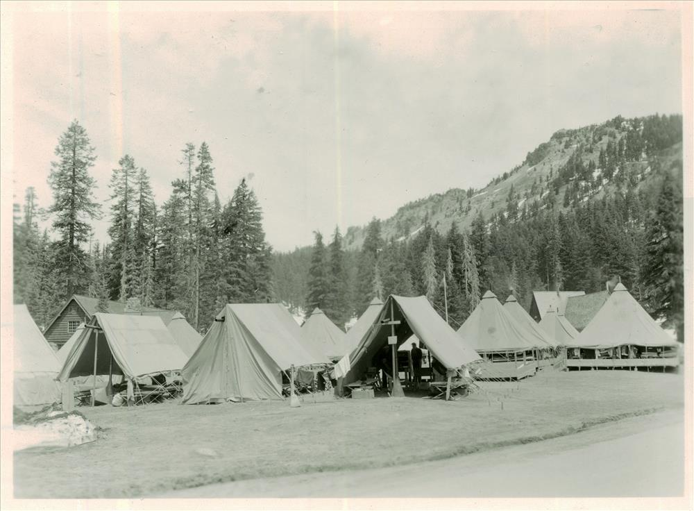 CCC Camp in Crater Lake NP, 1930s