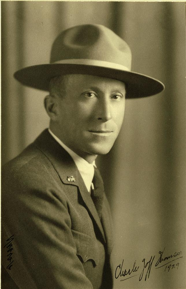 Charles Goff Thomson; Colonel Thomson; CRLA Superintendent 1929