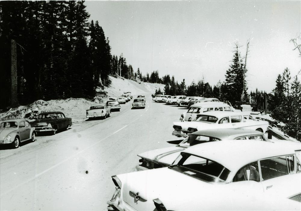 Cleetwood Cove in Crater Lake NP, 1962