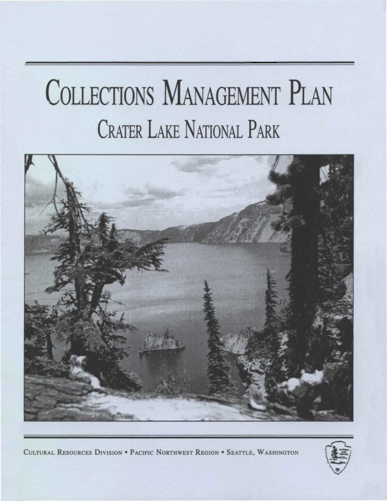 collections-management-plan-bush-1995
