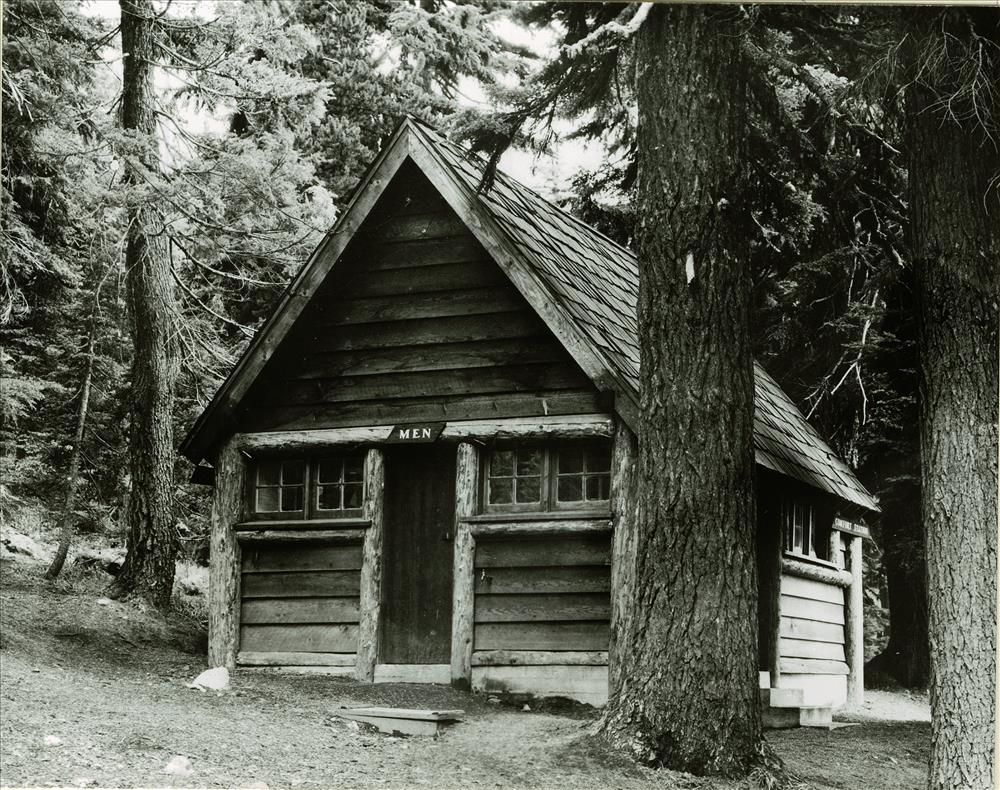 Comfort Station Rim Campground Photographer Grant Aug. 18, 1941