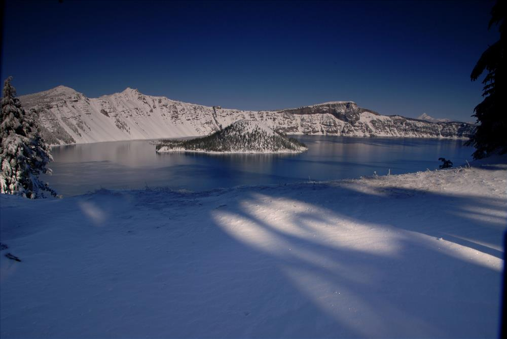 Crater Lake Winter in Crater Lake NP, 2009 Dave Harrison 5