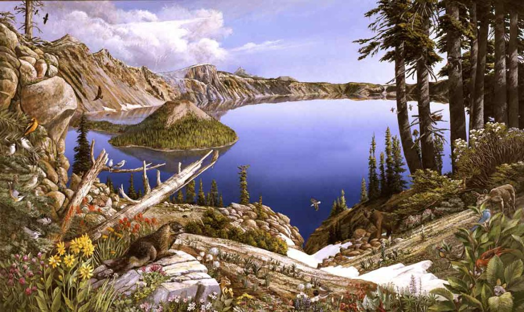 Crater Lake by Larry Eifert