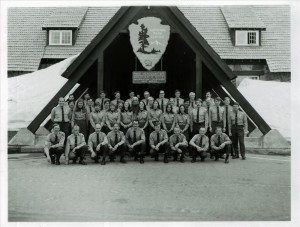 Entire Park Staff in Crater Lake NP, Summer 1974