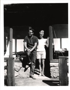 Fire Guards Larry and Nancy Knapp The Watchman Tom Cooper 1965