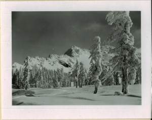 Garfield Peak in Crater Lake NP (date unknown) east of the lodge