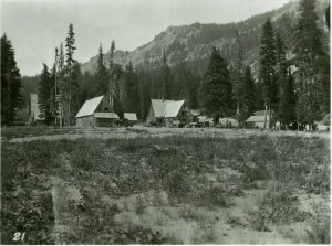 Headquarters Area in Crater Lake NP, 1930
