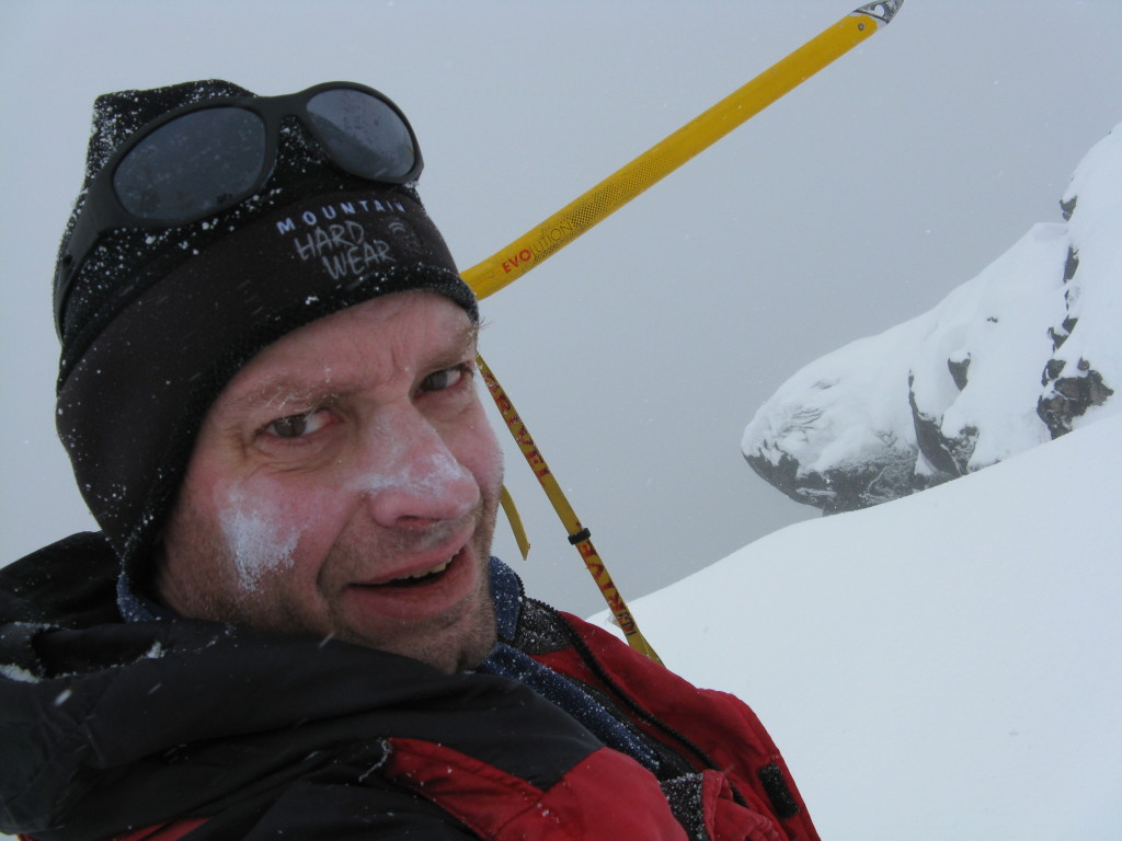 Brian Smith January 2016 Union Peak summit