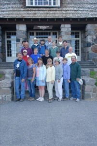 Interpretive staff photos in Crater Lake NP, Summer 2009