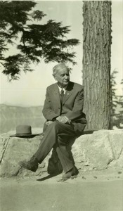 Judge William G. Steel Superintendent of Crater Lake National Park from July 1, 1913 to Nov. 20, 1916