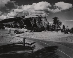 Llao Rock in Crater Lake NP (date unknown)