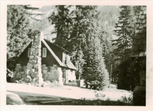 No 28 Stone House - Chief Ranger's Residence in Crater Lake NP, Completed 1931
