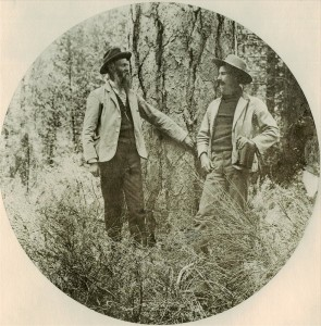 O.C. Applegate and Frederick Vernon Coville on South Slope of Mt. Mazama, 1902
