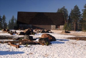Old Cafeteria in Crater Lake NP, 2009 Dave Harrison