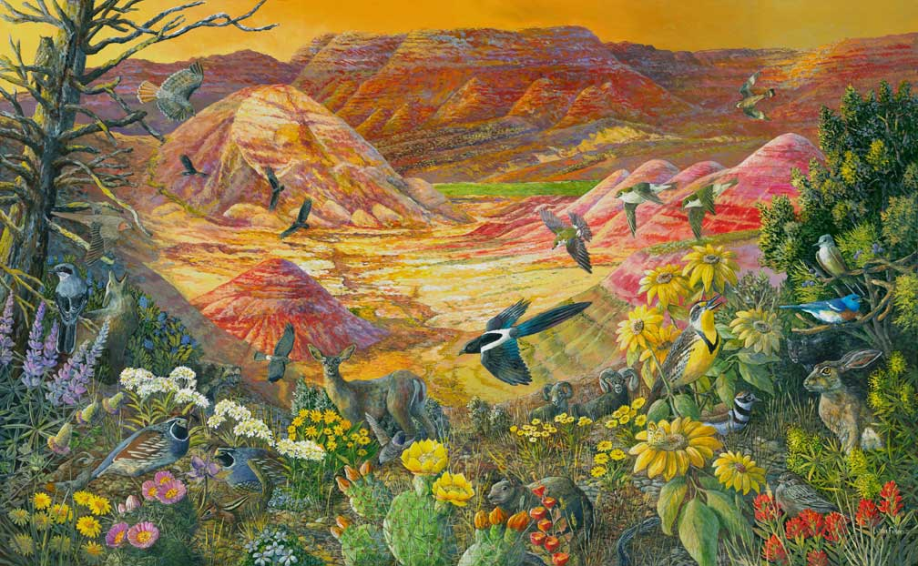 Painted Hills, John Day Fossil Beds National Monument, Oregon | Crater Lake Institute ...