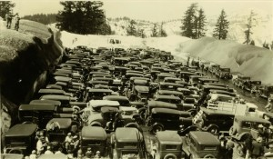 Perhaps a ski tournament in Crater Lake NP, 1920s 3