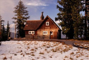 Rim Visitor Center in Crater Lake NP, 2009