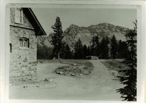 Service roads east of Crater Lake Lodge, circa 1935 Francis Lange
