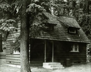 Sleepy Hollow residence in Crater Lake NP, 1941
