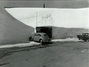 Snow in Crater Lake NP, circa 1960