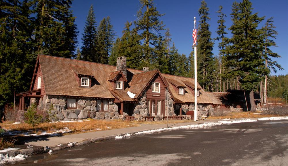 Steel Visitor Center in Crater Lake NP, 2009 Dave Harrison 2