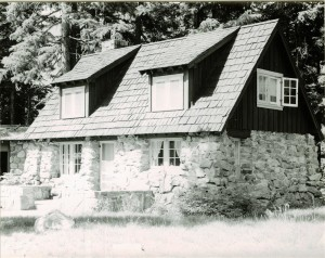 Stone Cottage #32 in Crater Lake NP, 1941
