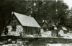 Stone Houses rearview of 30, 31, 32 in Crater Lake NP, 1930