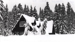 Superintendent's Residence House 19 in Crater Lake NP, 1968