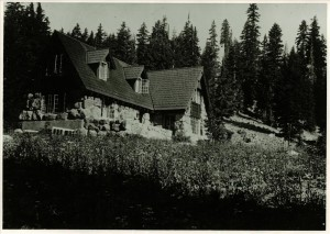 Superintendents Residence (House 19) in Crater Lake NP, circa 1935