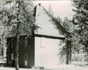 Superintendent's residence, Annie Spring in Crater Lake NP, 1941
