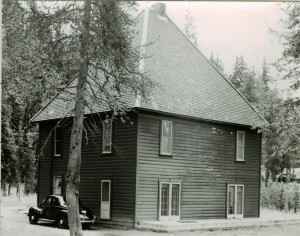 Superintendent's residence, Annie Spring in Crater Lake NP, 1941 Grant