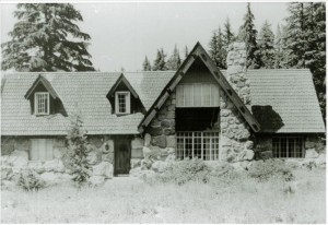 Superintendent's residence after landscaping in Crater Lake NP, circa 1936