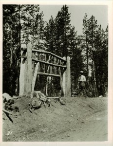 The Cascade Divide in Crater Lake NP, 1930s