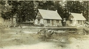 Three Stone Houses # 32, # 31, #30 in Crater Lake NP, 1928