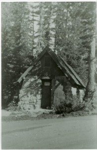 Transformer Bldg. 36 in Crater Lake NP, circa 1940