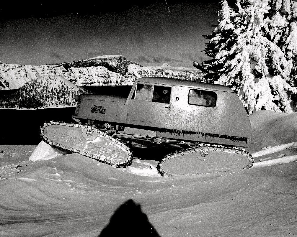 Tucker At Crater Lake, 2 early 50s 443