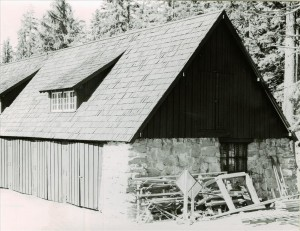 Utility Building in Crater Lake NP, 1941