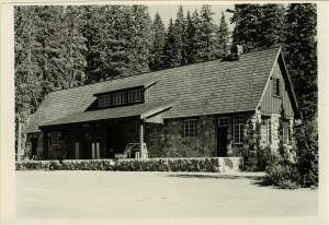 Warehouse in Crater Lake NP, 1941 George Grant 2
