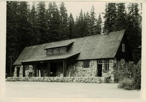 Warehouse in Crater Lake NP, 1941 George Grant