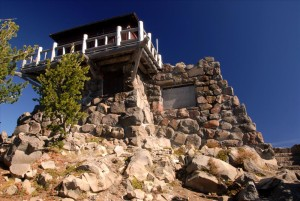 Watchman Fire Lookout in Crater Lake NP, 2009 Dave Harrison 14