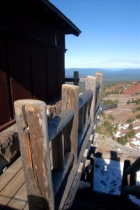 Watchman Fire Lookout in Crater Lake NP, 2009 Dave Harrison 3