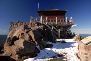 Watchman Fire Lookout in Crater Lake NP, 2009 Dave Harrison 31