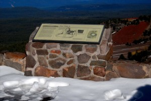 Watchman Fire Lookout in Crater Lake NP, 2009 Dave Harrison 35