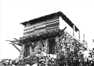 Watchman Lookout in Crater Lake NP, 1932